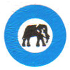 Blue Elephant Cement Golf Club Logo