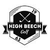 High Beech Golf Course - Yellow Course Logo
