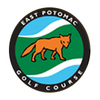 White at East Potomac Public Golf Course - Public Logo