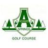 Adams Springs Golf Course Logo