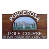 Ponderosa Golf Course - Public Logo