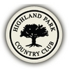 Highland Park Country Club - Public Logo
