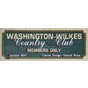 Washington-Wilkes Country Club - Private Logo