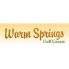 Warm Springs Golf Course - Public Logo