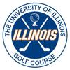 Blue at University of Illinois Golf Course - Public Logo