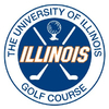 Orange at University of Illinois Golf Course - Public Logo