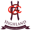 Highland Golf & Country Club - Private Logo