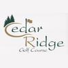 Cedar Ridge Golf Course Logo
