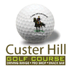 Custer Hill Golf Course - Military Logo