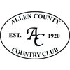 Allen County Country Club Golf Course - Private Logo