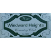 Windward Heights Country Club - Private Logo