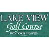 Lakeview Golf Course - Public Logo