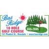 Bas-Ridge Golf Course - Public Logo