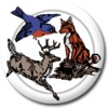Red Fox/White Tail at Cheshire Hills Golf Course - Public Logo