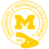University of Michigan Golf Course - Private Logo