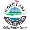 Scott Lake Country Club - White/Red Course Logo