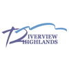 Red/Blue at Riverview Highlands Golf Course - Public Logo