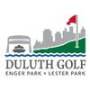 Front & Back at Lester Park Golf Course - Public Logo