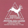 Whitetail Golf Course Logo