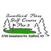 Carter's Sweetland Pines Par 3 Golf Course - Public Logo