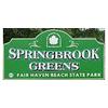 Springbrook Greens Golf Course - Public Logo