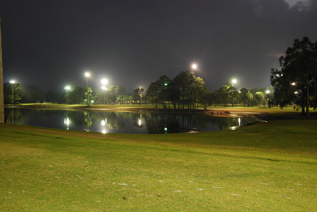 Golf By Night The Links Of Naples Golfer Photos