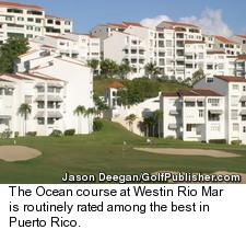 The Ocean course at Westin Rio Mar Beach