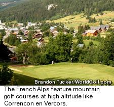 Correncon en Vercors Golf Course - No. 18