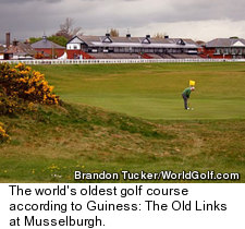 The Old Links at Musselburgh