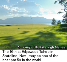 Edgewood Tahoe Golf Course - Hole 16