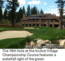 Incline Village Championship Course - Hole 18