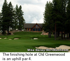 Old Greenwood Golf Course - Hole 18