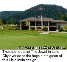 The Jewel Golf Course - Hole 9