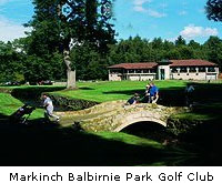 Markinch Balbirnie Park Golf Club