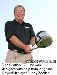 Fuzzy Zoeller with FZ1 Driver