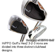 Hippo Golf - Hex2 Irons