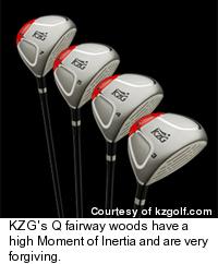 KZG's Q Fairway Woods
