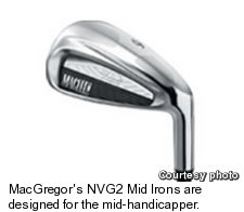 MacGregor's NVG2 Mid Irons