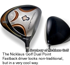 Nicklaus Golf Dual Point Fastback Driver