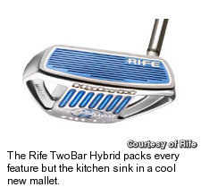Rife TwoBar Hybrid Putter