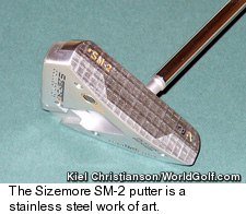 Sizemore SM-2 Putter - Face