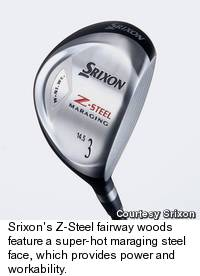 Srixon's Z-Steel Fairway Woods