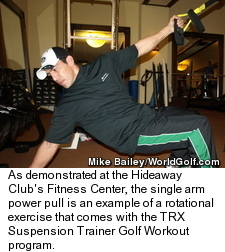 TRX Suspension Trainer - Arm Exercise