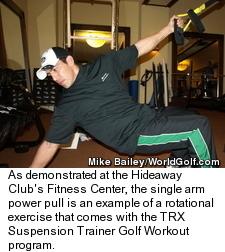 TRX Suspension Trainer - Arm Exercise