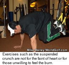 TRX Suspension Trainer - Suspended Crunch