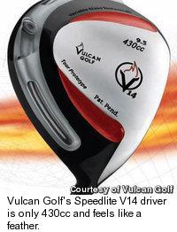 Vulcan Golf - Speedlite V14 Driver