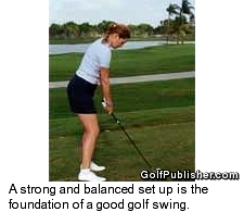 Golf Swing Set-up