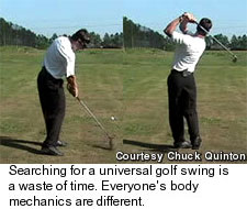 Rotary Golf Swing
