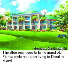 Doral's Blue Monster