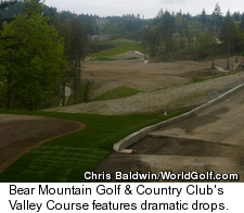 Bear Mountain - New Valley Course - Drops